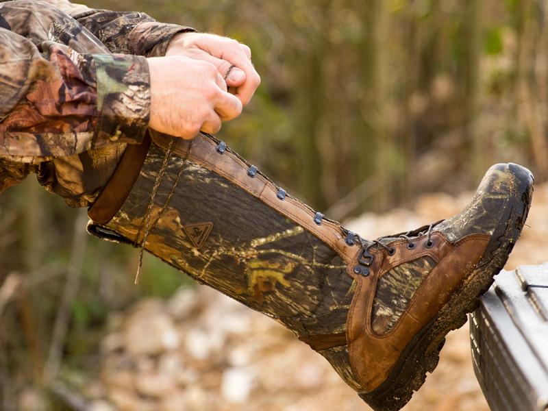 rocky lace up camo snake boots