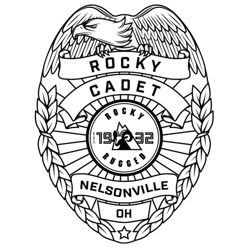 Badge coloring sheet