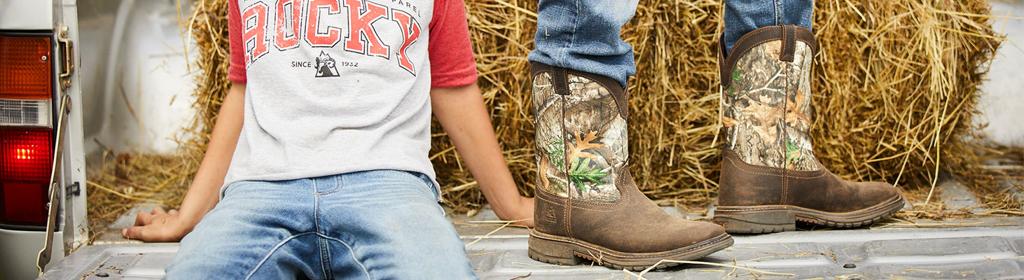 rocky kids boots and apparel