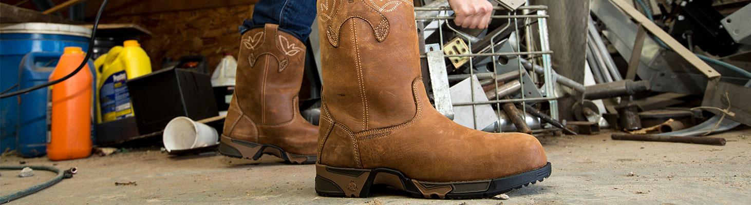rocky aztec work boots