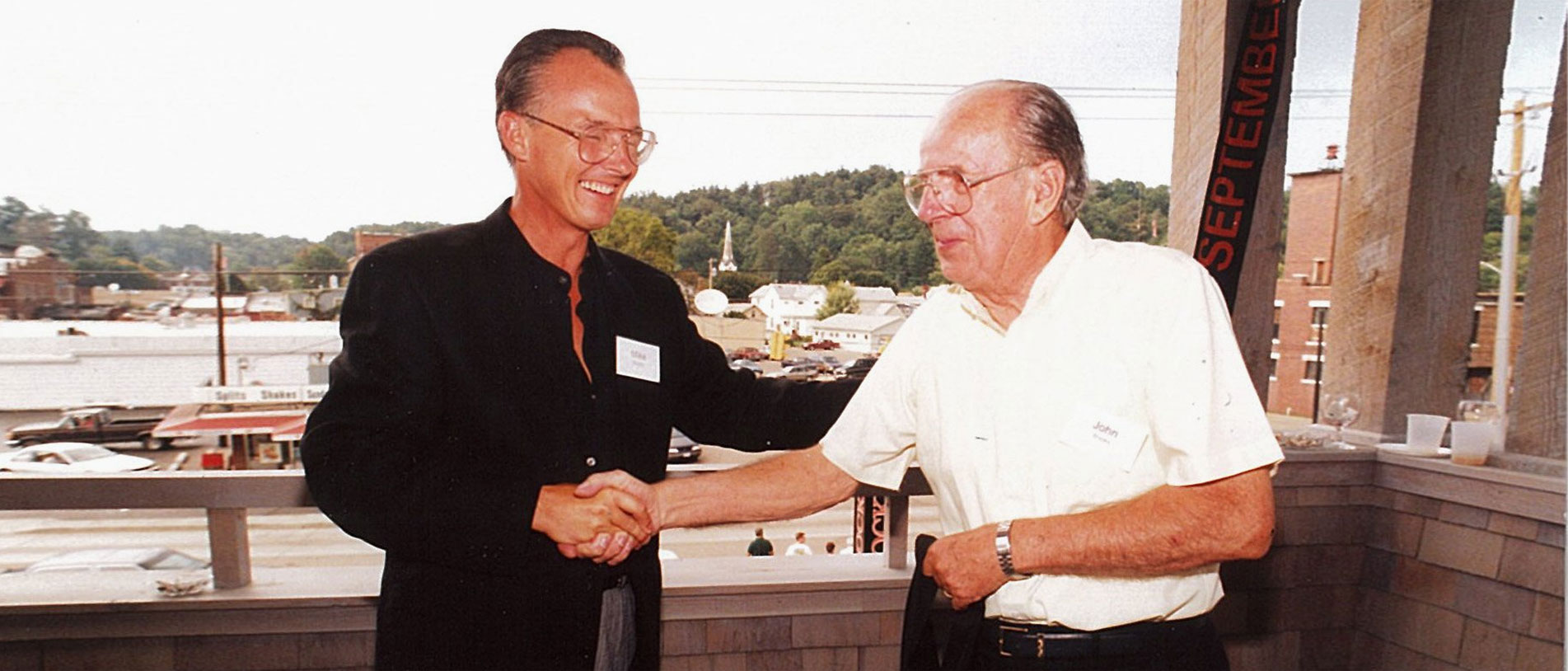 Mike and William Brooks - September 1993