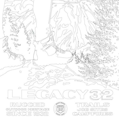 Legacy 32 Coloring Sheet