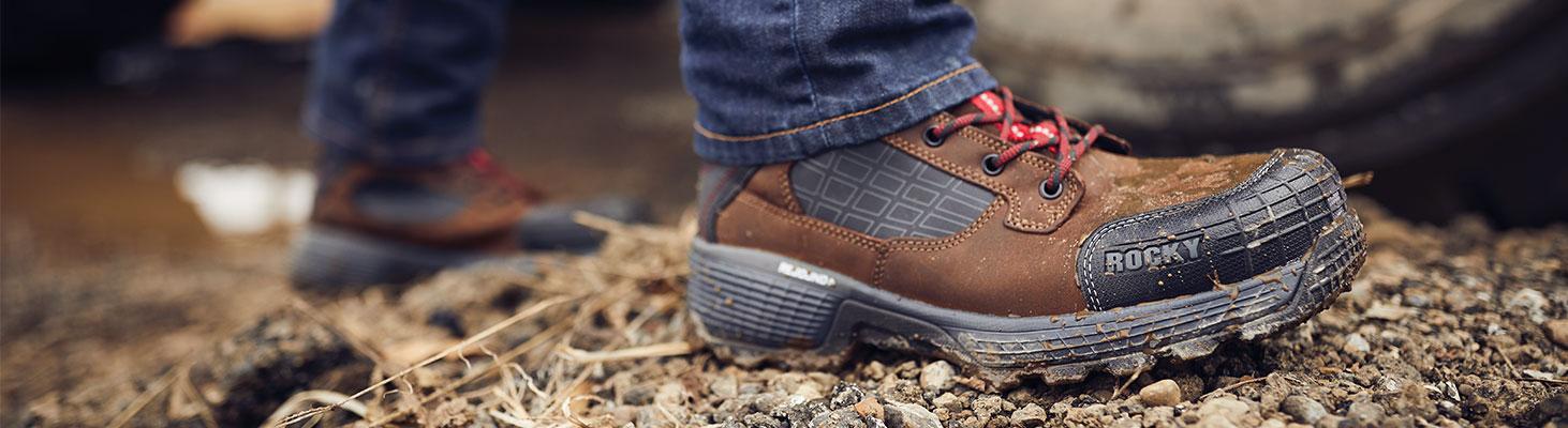 rocky treadflex work boots