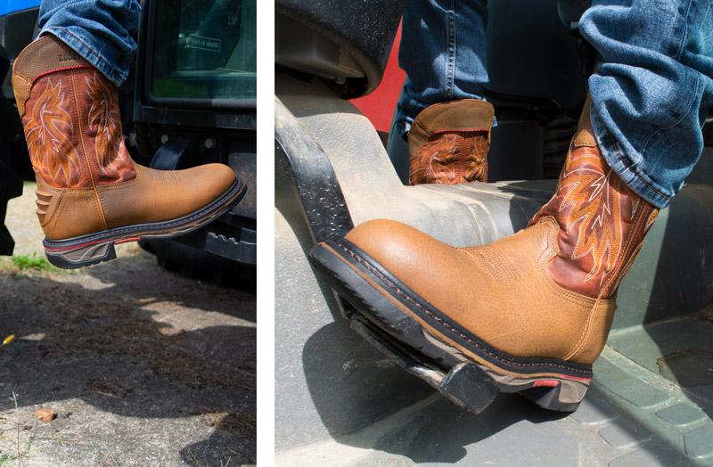 Rocky Iron Skull comfortable western boot