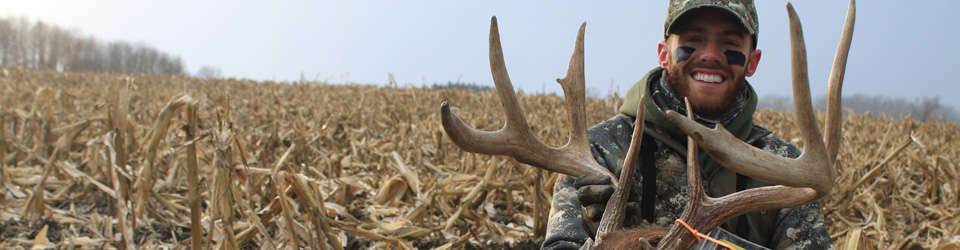 Tag n Brag with a large buck.