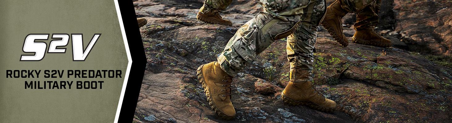 s2v Predator Military Boots