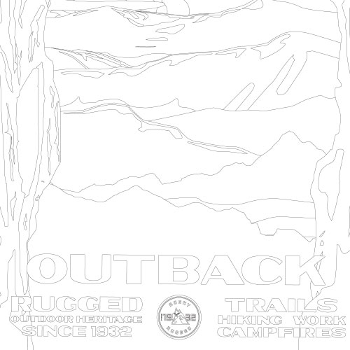 Outback coloring sheet
