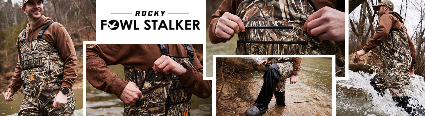 Rocky Fowl Stalker Waders | Click to shop now!