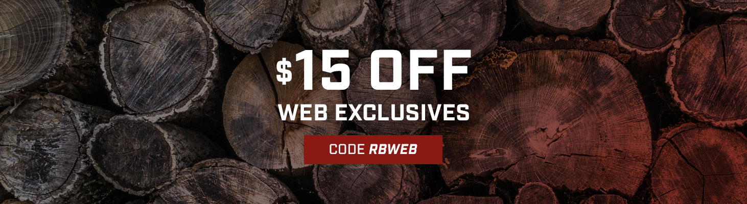 Take $15 off select web exclusive styles. Use code RBWEB until 11:59PM EST on 29 February 2020. Click to shop now!