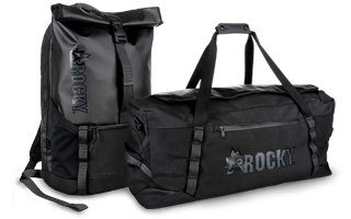 Rocky Daypack and Duffel Bag